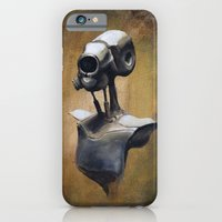 Robot Portait  iPhone 6 Slim Case