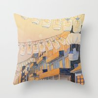 Discovery at Dusk Throw Pillow
