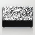 Dots and Black iPad Case