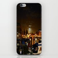 Yellow Moon iPhone & iPod Skin