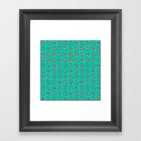 I C U BB Framed Art Print