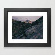 Triglav At Sunrise Framed Art Print