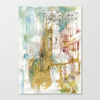 A French Experience Canvas Print