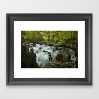 Forest River Framed Art Print