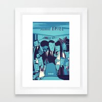 PULP FICTION variant Framed Art Print
