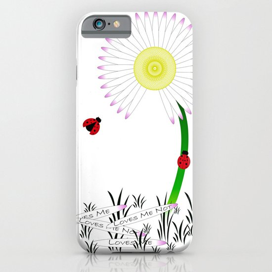 Love Me, Love Me Not iPhone & iPod Case