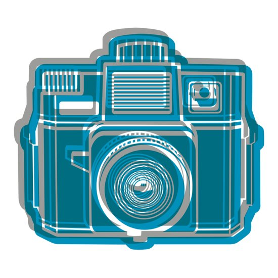 I Still Shoot Film Camera Logo Canvas Print