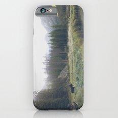 Morning Meadow Moose iPhone 6 Slim Case