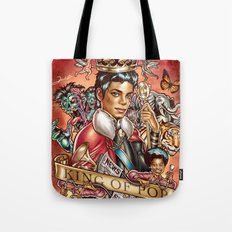 King of the Pop Tote Bag