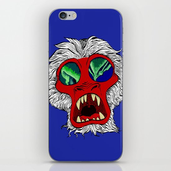 """Arctic Monkey"" by Virginia McCarthy iPhone & iPod Skin"
