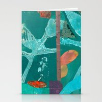 Turquoise Repeat Stationery Cards