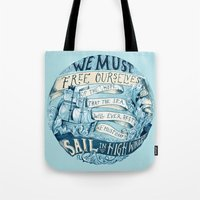 Learn To Sail Tote Bag