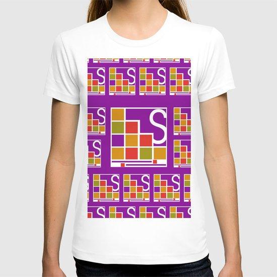 Logo Pattern T-shirt