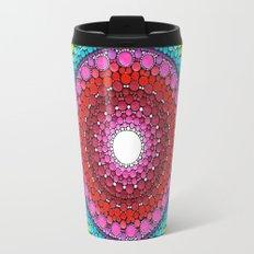Mandala of Inner Peace Travel Mug