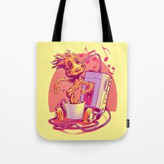 GROOVIN' THROUGH THE GALAXY Tote Bag