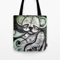 Ted Tag Tote Bag