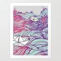BOATS90 Art Print