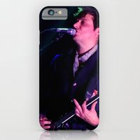 iPhone & iPod Case featuring Jamie Hince // The Kills by Hattie Trott