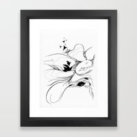 Flower000 Framed Art Print