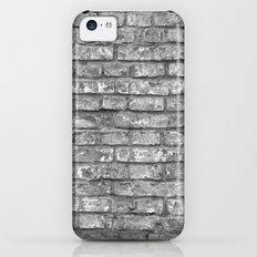 Vintage Brick Wall iPhone 5c Slim Case