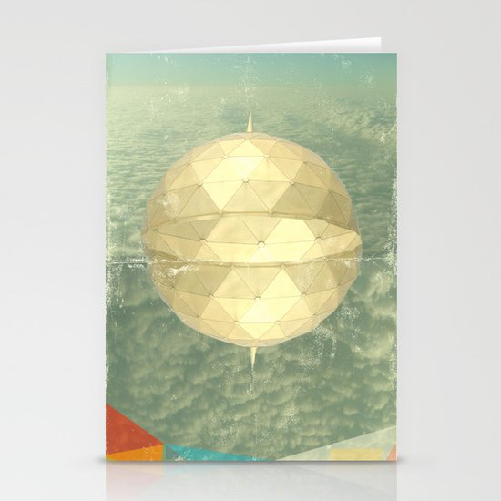 Space Dome Stationery Card