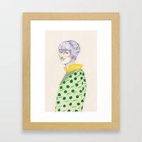 Something for November Framed Art Print