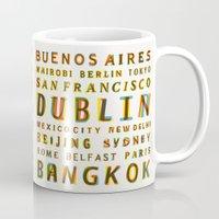 Travel World Cities Mug
