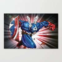 Captain.... Canvas Print