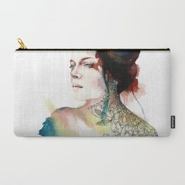 Carry-All Pouch - blossoming tattoos - Gajus Eidi