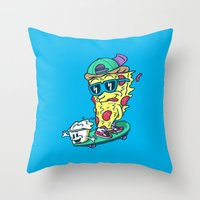 Pizza and Ranch Throw Pillow