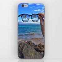 Hawaii Sunglasses Palmtrees iPhone & iPod Skin