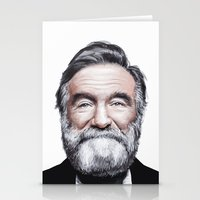 A Tribute To Robin Willi… Stationery Cards