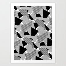 Little Mess Art Print