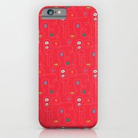 iPhone & iPod Case featuring Red Bicycle by ColorisBrave