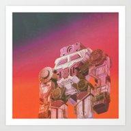 GO-BOT SUPERJAXXED (ever… Art Print