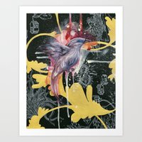 Bali Starling Art Print