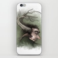 Fairy with Antlers iPhone & iPod Skin