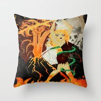 Sinmara Throw Pillow