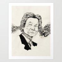 Mr. Junichiro Koizumi  Art Print