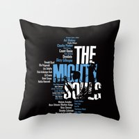 The Mighty Souls: Jazz L… Throw Pillow