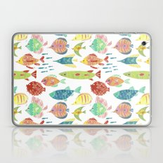 Little flowers and friends Laptop & iPad Skin