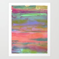 Waterscape 007 Art Print