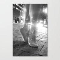 Downtown Dancer Canvas Print