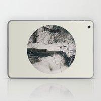 Winter Falls Circular Laptop & iPad Skin