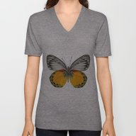 Unisex V-Neck featuring *Butterfly** by Mr And Mrs Quirynen