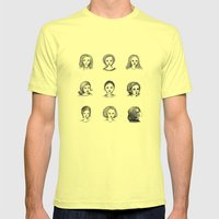 Sketches I Mens Fitted Tee Lemon SMALL