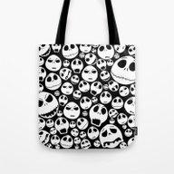 Halloween Jack Skellingt… Tote Bag