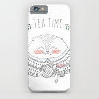 Tea Time Cat iPhone 6 Slim Case