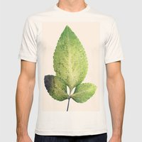 Herbarium Mens Fitted Tee Natural SMALL