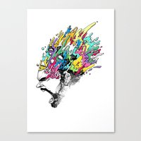 INKS'PLOSION Canvas Print